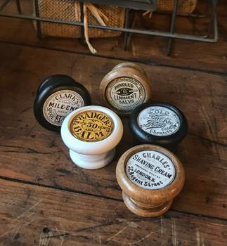 Antique Wooden Knobs