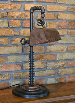 Steampunk Desk Lamp
