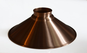 Solid copper shade