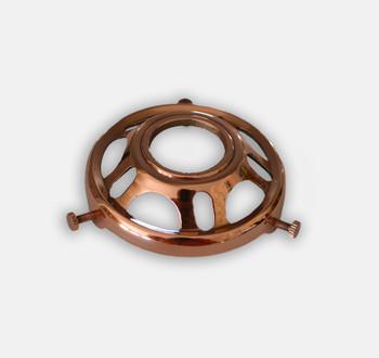 Polished Copper Shade Holder