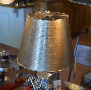 Perforated Metal Lamp Shade