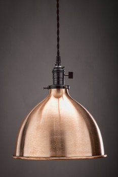 """Parlor Shade 10"""" - Solid Copper"""