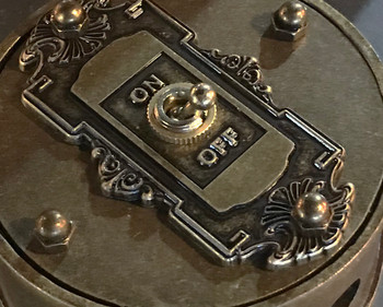Brass Switch Cover