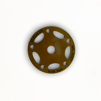 "Steam Co. Washer - 2-1/2"" - Antique Brass"