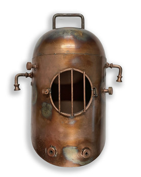 Copper Divers Helmet