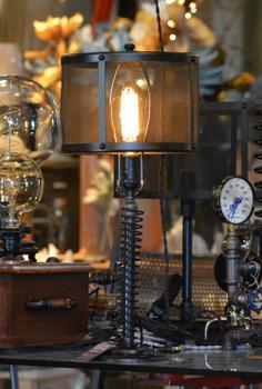 Black Mesh Lamp