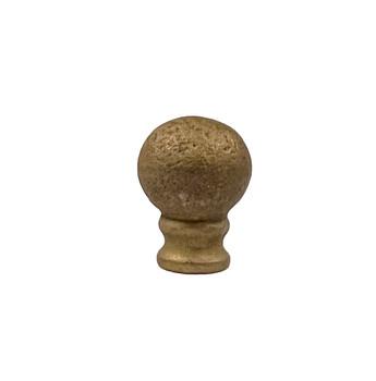 Lamp Finial Brass Grunge