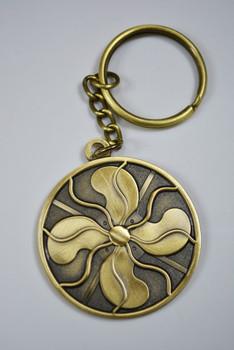 antique fan keychain - vintage fan antique fan keychain