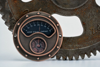 Steampunk Gauge - Antique Copper