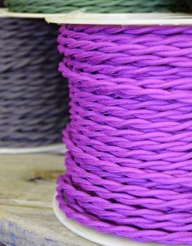 Purple Cloth Wire