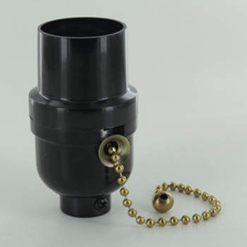 Phenolic Pull-Chain Light Socket