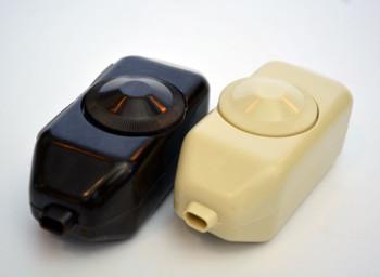 Dimmer Switch - Inline Brown