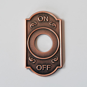 Switch Cover - Antique Copper