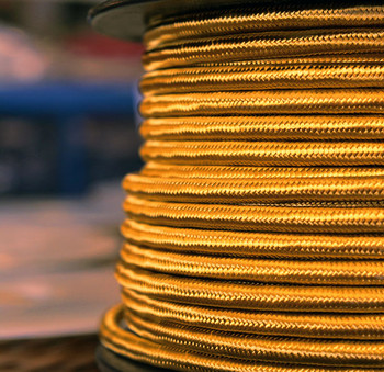 Gold cloth wire