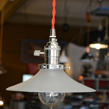 Frosted Pendant Light