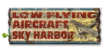 Pilot Antique Sign