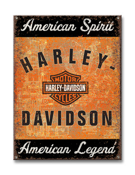 Harley Davidson Metal SIgn