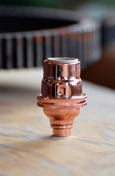 Copper Candelabra Light Socket