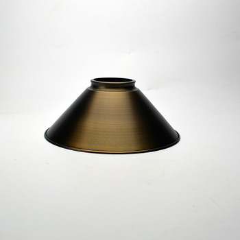 Antique Brass Industrial Shade