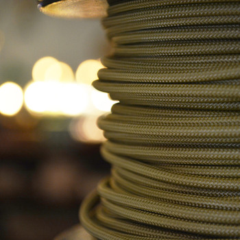 Gold Single Conductor Cloth WIre
