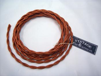 Copper Cloth Covered Wire
