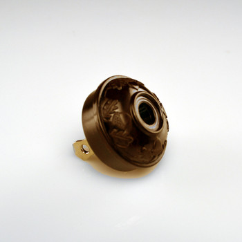 Antique Acorn Plug Brown