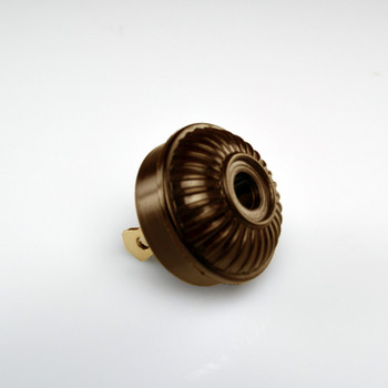 Brown Mid-Century Plug