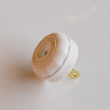 White Antique Plug