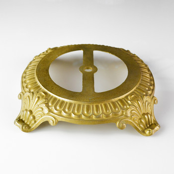 Cast Brass Lamp Base