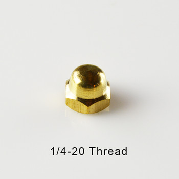Solid Brass Turned Ball 5 8 1 4 20