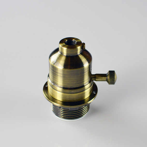 Antique Brass Socket