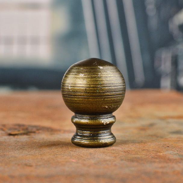 Antique Brass Finial