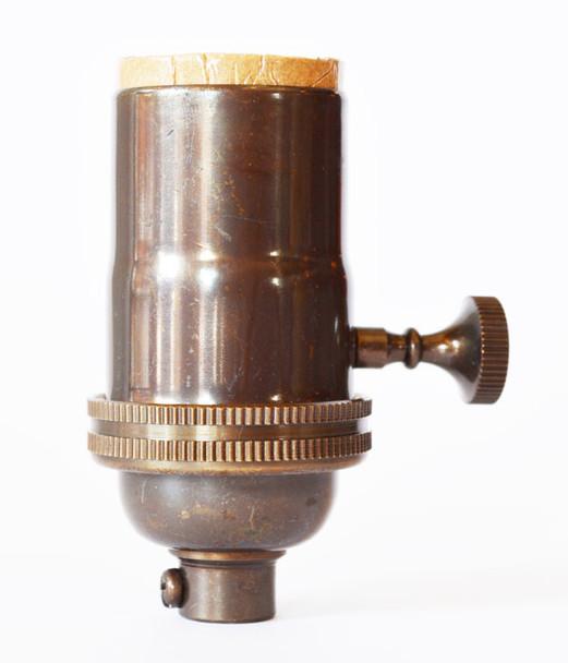 Light Socket Oil Rubbed