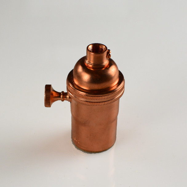 Solid Copper Light socket