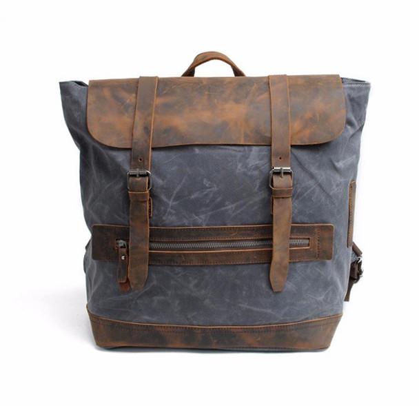 Vintage Rucksack - Charcoal