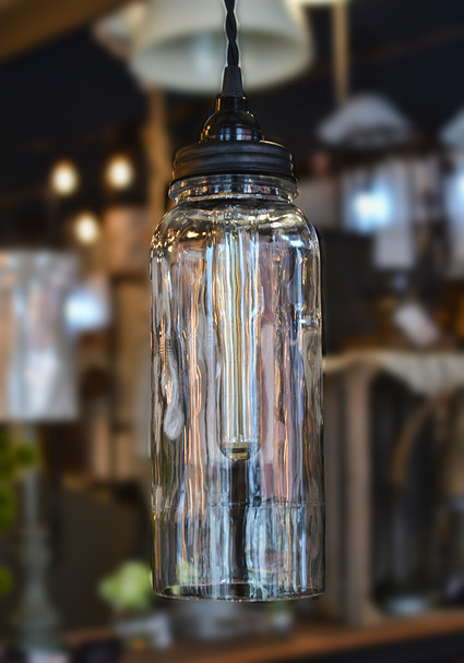 Glass Bottle Light