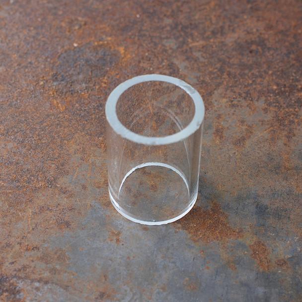 "2"" Glass cylinder"