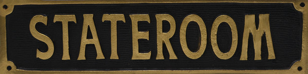 Stateroom Sign