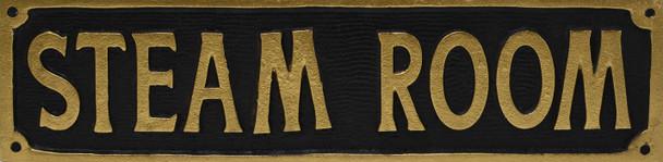 Steam Room Plaque