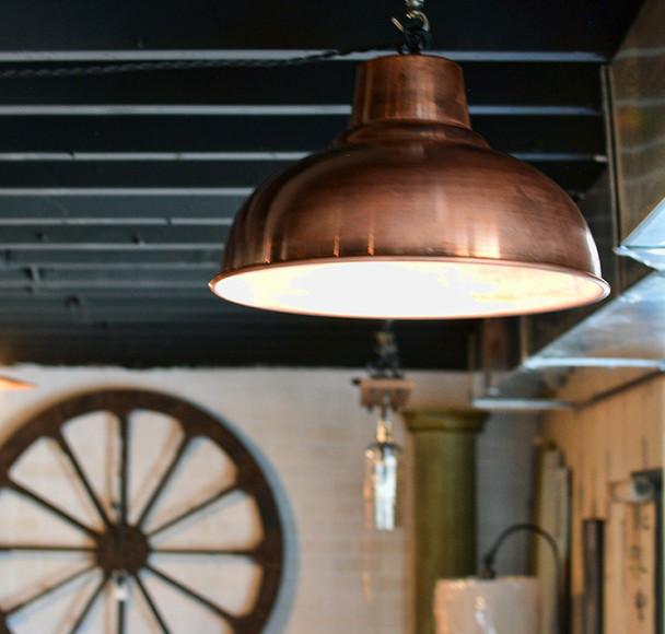 Farmhouse Copper Shade