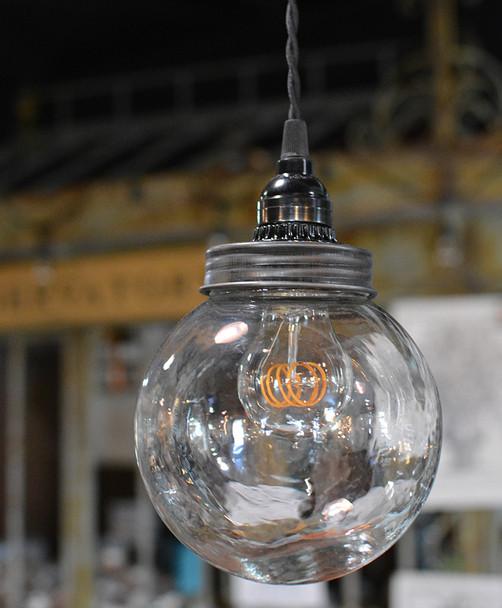 Glass Globe Pendant