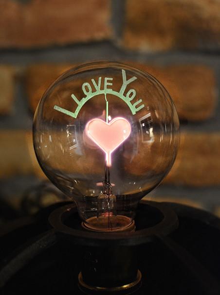 I love you bulb