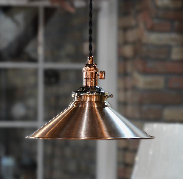 Solid Copper Pendant