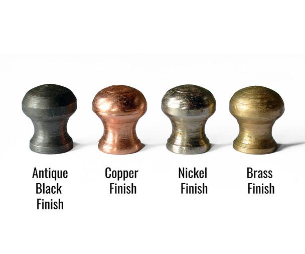 Mushroom Lamp Finials