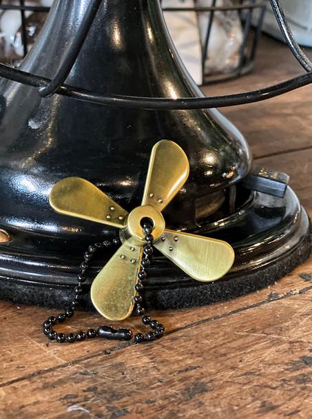 Antique Fan Key Chain