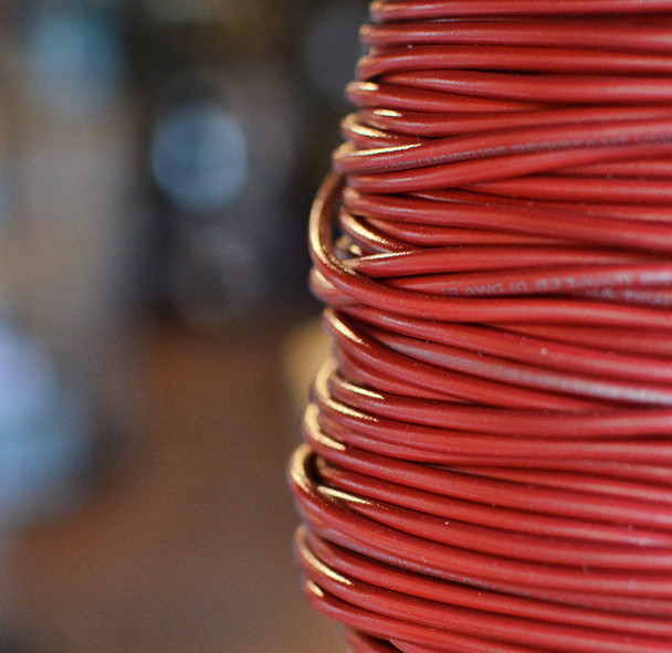 Red AWM Wire