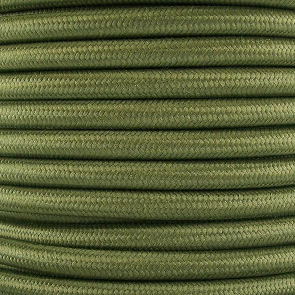 Olive Green Round Wire