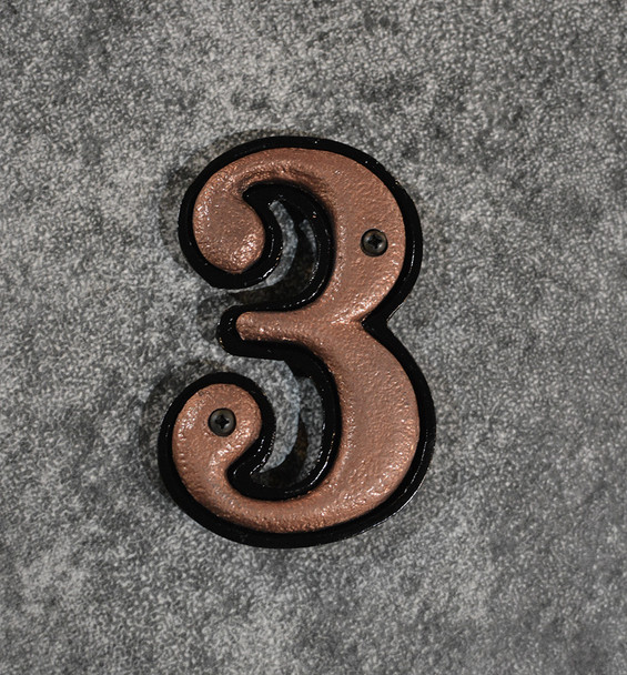 3 House Number