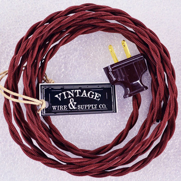 Burnt Copper Lamp Cord