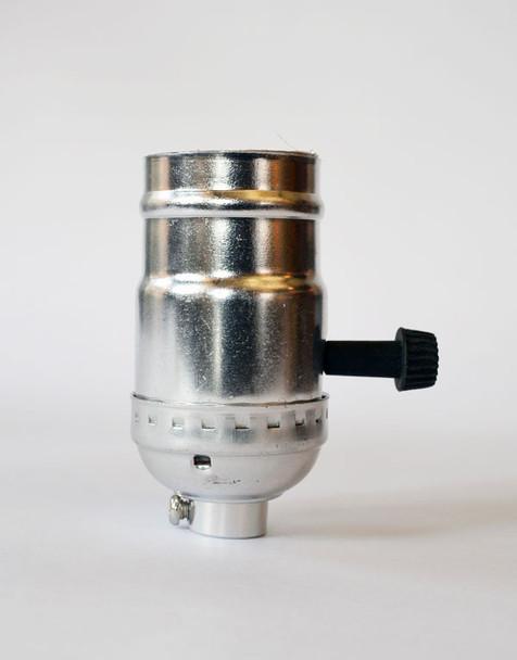 Aluminum Socket - Antique Nickel